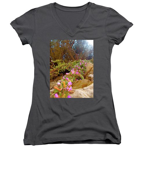 Looking Up Women's V-Neck T-Shirt