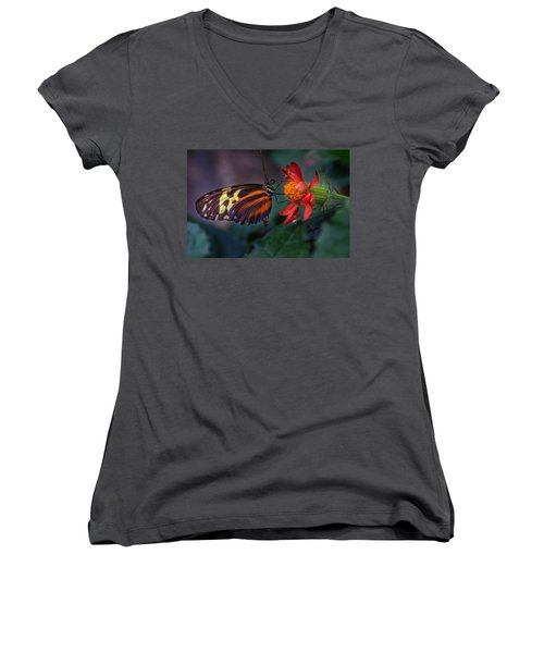 Looking Up  Women's V-Neck