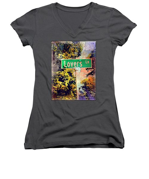 Lovers Lane Women's V-Neck T-Shirt