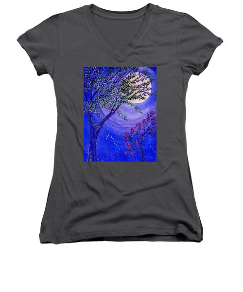Magical Spring Women's V-Neck T-Shirt