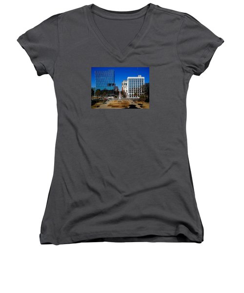 Main Street South Carolina Women's V-Neck T-Shirt