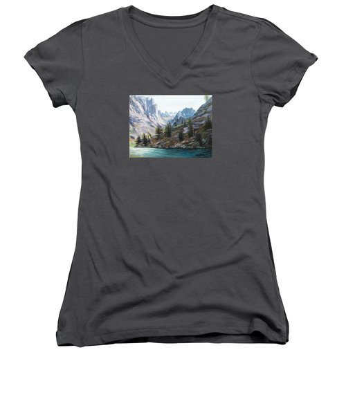 Majestic Montana Women's V-Neck (Athletic Fit)