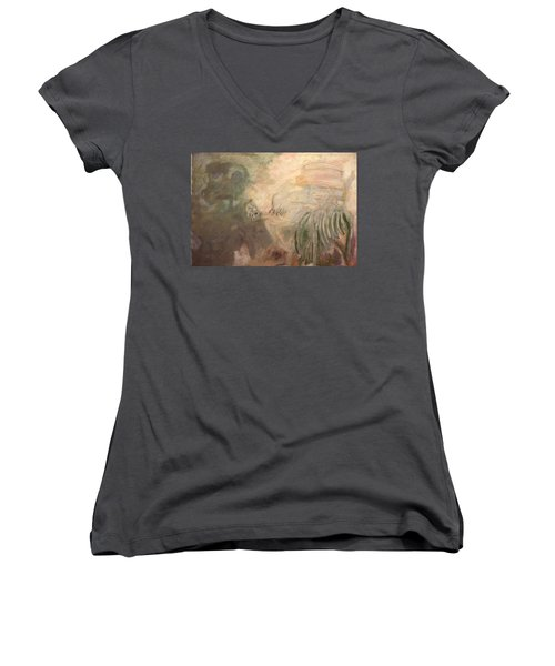 Man And Woman No. A Women's V-Neck T-Shirt