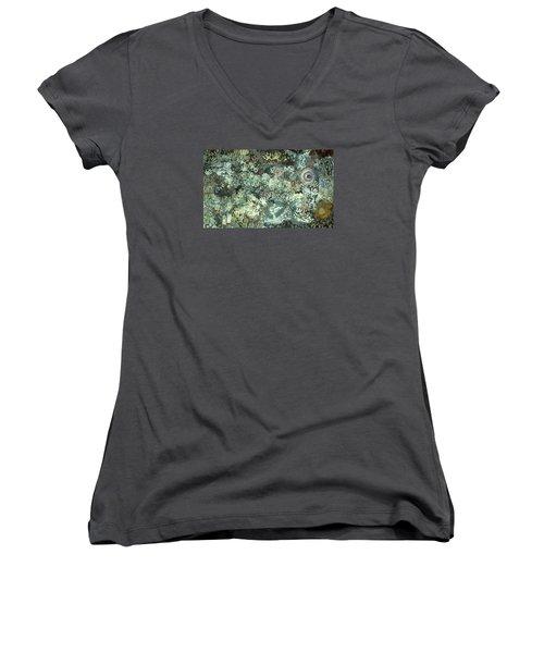Many Desperate Hands Women's V-Neck T-Shirt