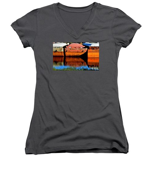 Many Miles Women's V-Neck (Athletic Fit)
