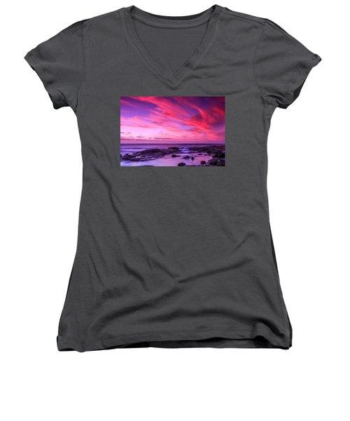 Margaret River Sunset Women's V-Neck T-Shirt
