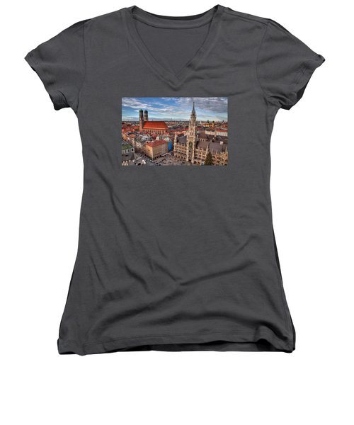 Marienplatz Women's V-Neck T-Shirt
