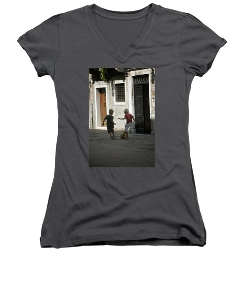 Match Of The Day Women's V-Neck (Athletic Fit)