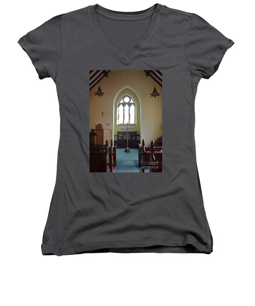 May Hill Church Women's V-Neck (Athletic Fit)