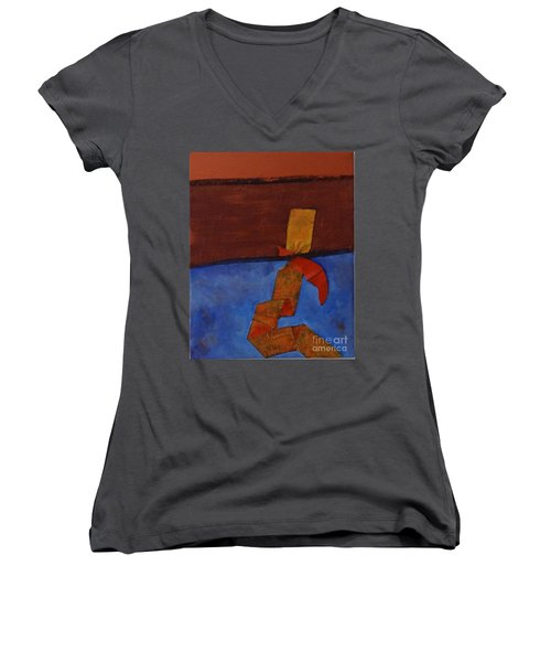 Meeting Point Women's V-Neck T-Shirt
