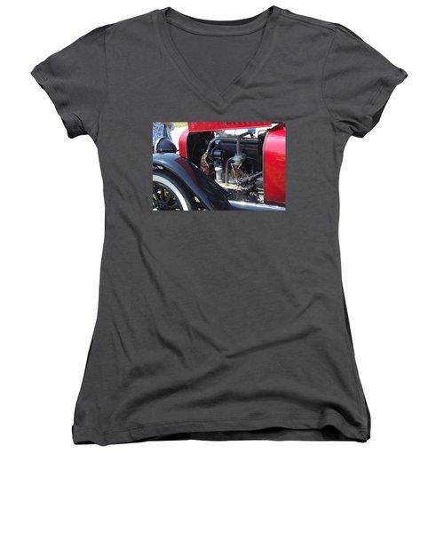 Mercer Power Women's V-Neck T-Shirt