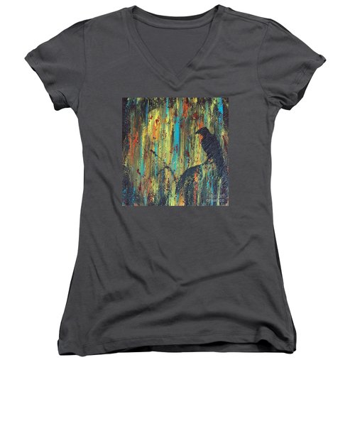 Messenger Women's V-Neck T-Shirt (Junior Cut)