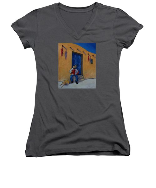 Mexico Impression II Women's V-Neck (Athletic Fit)