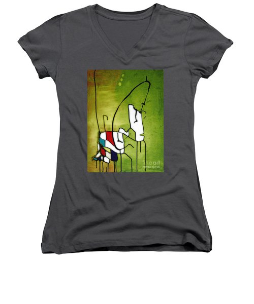 Mi Caballo 2 Women's V-Neck (Athletic Fit)