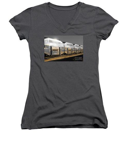 Mirror Of The Winter Sun Women's V-Neck T-Shirt