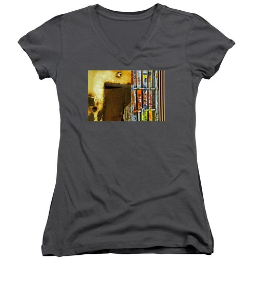 Mixed Elements Two Women's V-Neck