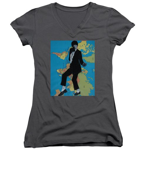 Mj Billie Jean Women's V-Neck T-Shirt
