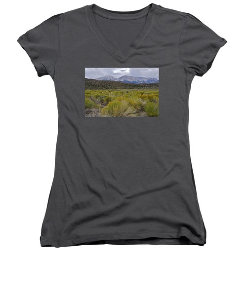 Mono Basin Lee Vining 1 Women's V-Neck T-Shirt