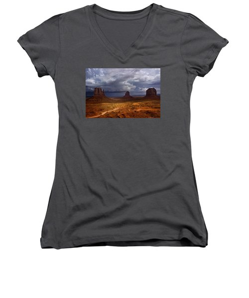 Monuments Of The West Women's V-Neck T-Shirt