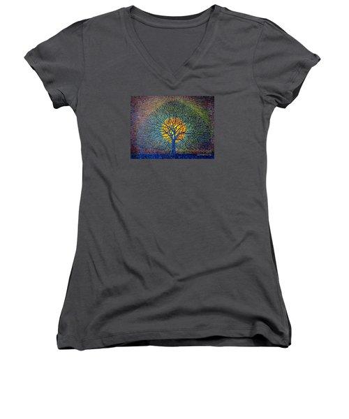 Moonshine Women's V-Neck T-Shirt