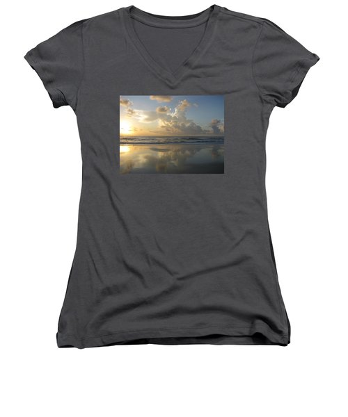 Morning Has Broken Women's V-Neck T-Shirt (Junior Cut)