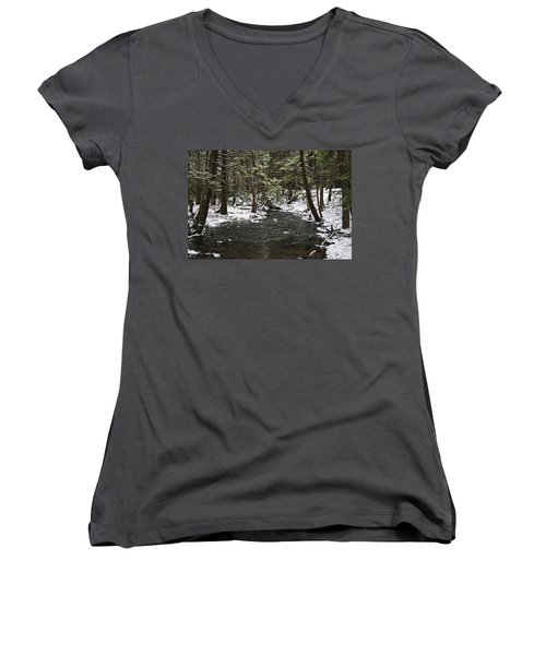 Moscow High School Nature Trail Women's V-Neck