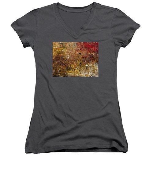Mother Lode Women's V-Neck T-Shirt (Junior Cut) by Carmen Guedez