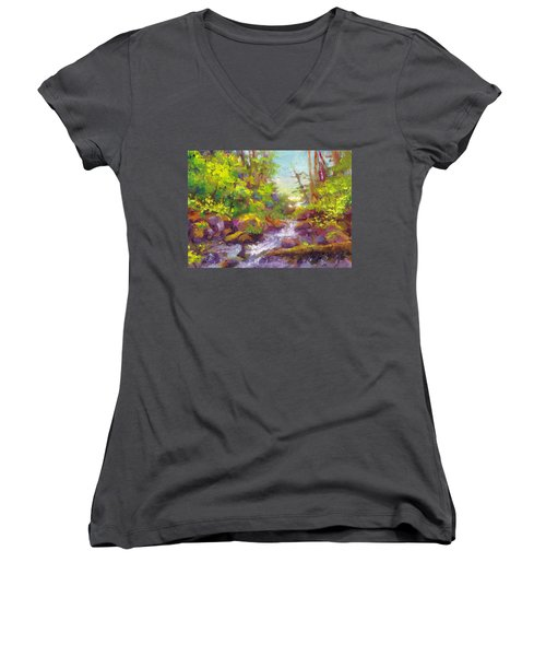 Mother's Day Oasis - Woodland River Women's V-Neck
