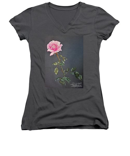 Mothers Rose Women's V-Neck (Athletic Fit)