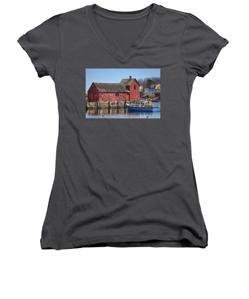 Motif Number 1 Women's V-Neck T-Shirt
