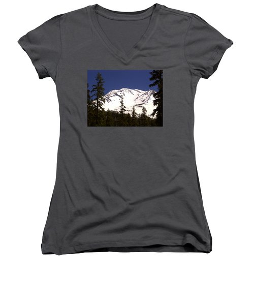 Mount Shasta Women's V-Neck (Athletic Fit)