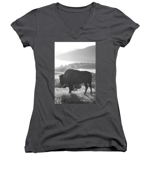 Mountain Wildlife Women's V-Neck