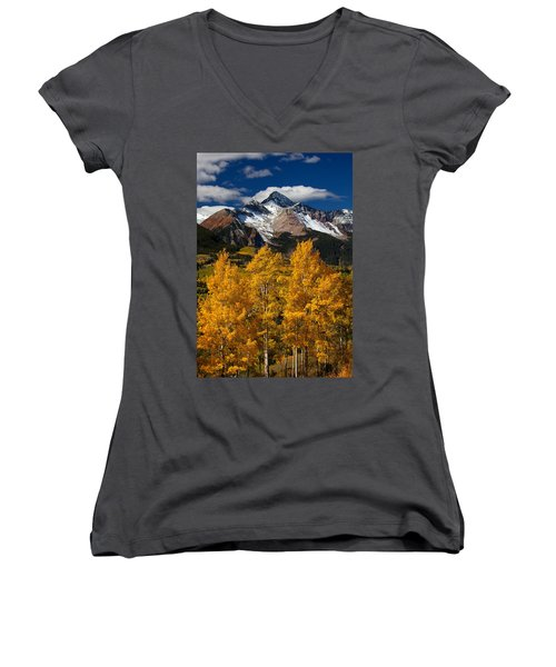 Mountainous Wonders Women's V-Neck