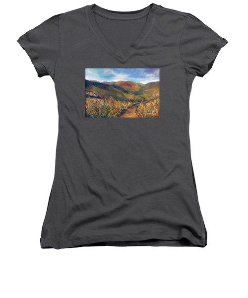 Mt. Diablo Hills Women's V-Neck T-Shirt