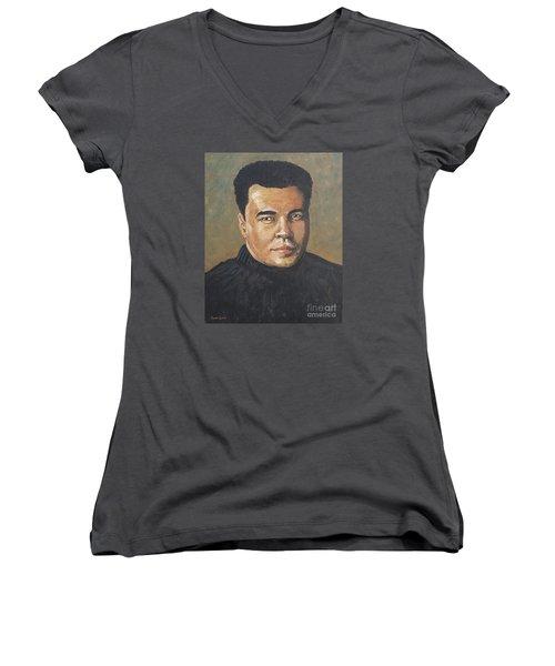 Muhammad Ali/the Greatest Women's V-Neck