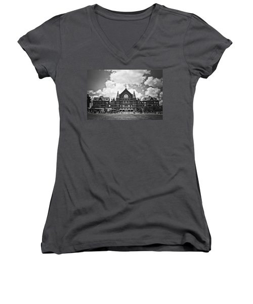 Music Hall 2 Women's V-Neck T-Shirt