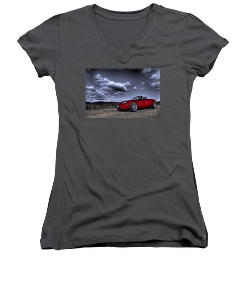 Mx 5 Women's V-Neck T-Shirt