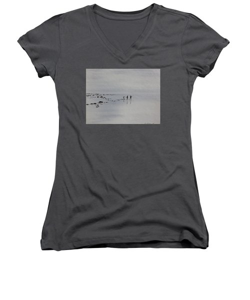 My Dreamtime 1 Women's V-Neck T-Shirt (Junior Cut) by Tim Mullaney