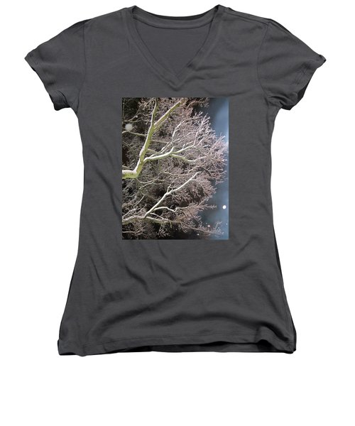 My Magic Tree Women's V-Neck (Athletic Fit)