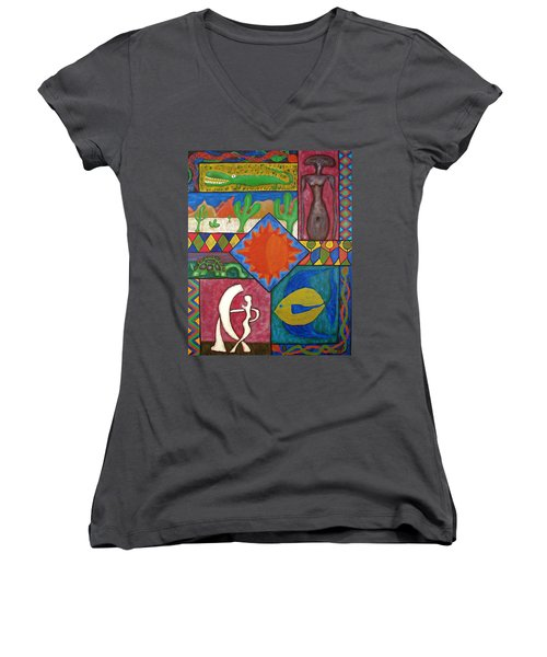 Naive #12 Women's V-Neck