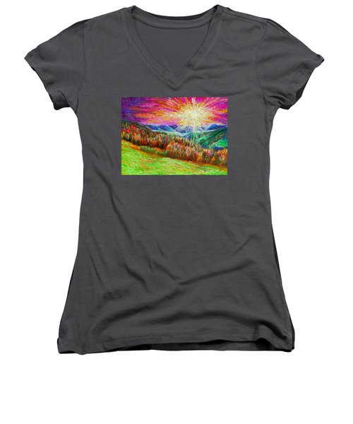 Nature 1  25 2015 Women's V-Neck
