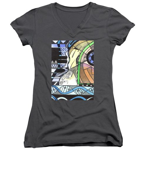 Nature And Nurture Women's V-Neck T-Shirt