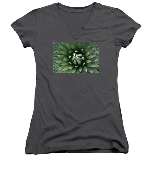 Nature's Perfect Abstract Women's V-Neck