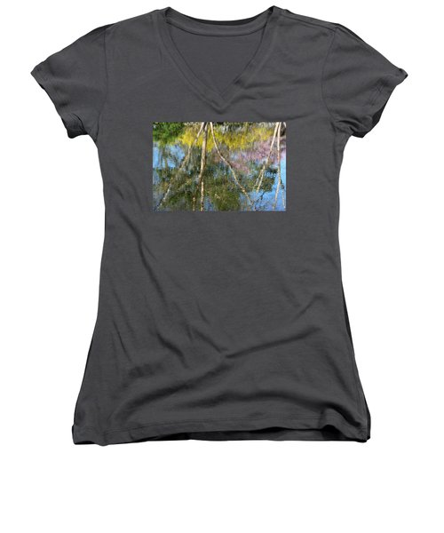 Nature's Reflections Women's V-Neck (Athletic Fit)