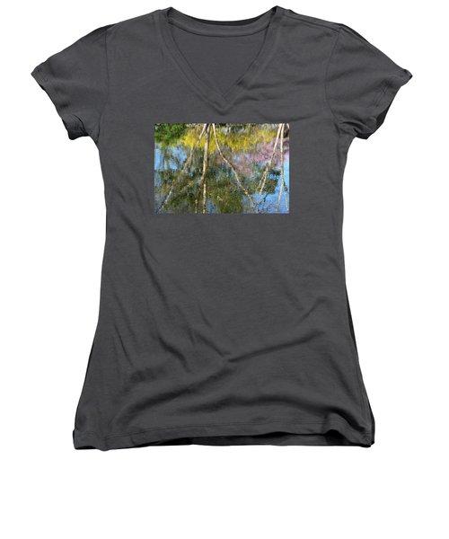 Nature's Reflections Women's V-Neck T-Shirt
