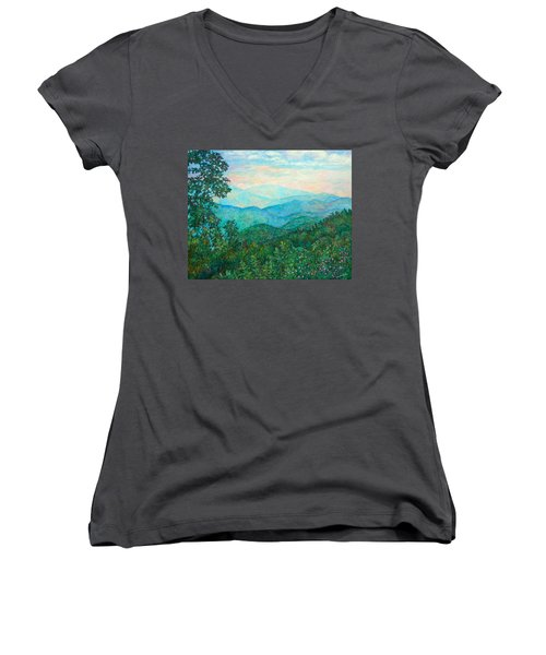 Near Purgatory Women's V-Neck