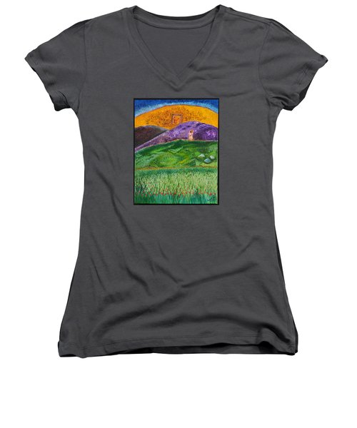 New Jerusalem Women's V-Neck T-Shirt