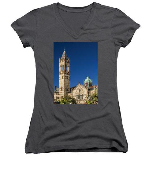 New Old South Church Women's V-Neck T-Shirt