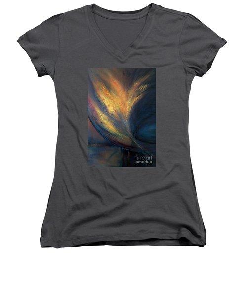 Night Vision Women's V-Neck T-Shirt