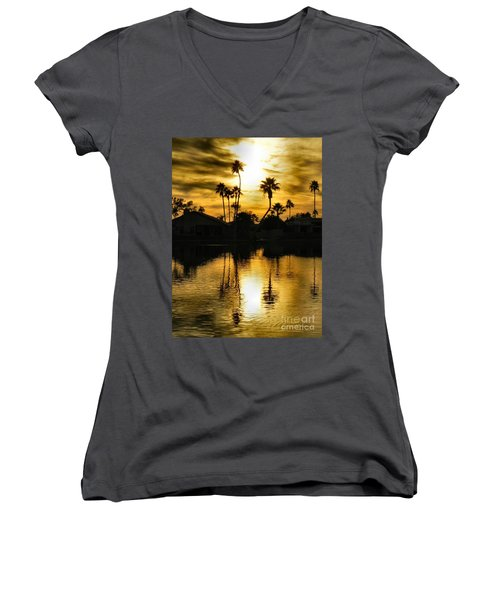 Nightfall Women's V-Neck T-Shirt